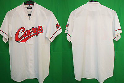 6791a8fe7b0 2009-2018 Hiroshima Toyo Carp Baseball Jersey Shirt Home Central League L  NEW
