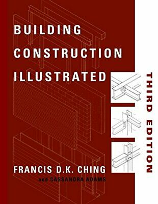 Building Construction Illustrated by Adams, Cassandra Paperback Book The Cheap