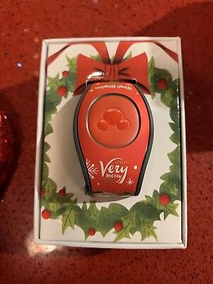 Disney World Mickey's Very Merry Christmas Party 2018 MagicBand