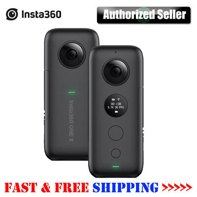 Insta360 ONE X 5.7K 18MP Panoramic Action Camera for iPhone i Pad Samsung T9O4
