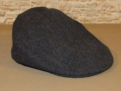 Lawrence   Foster Wool Newsboy Cabbie Driving Cap Hat Size 7 3 8 Made in 29e443f276e0
