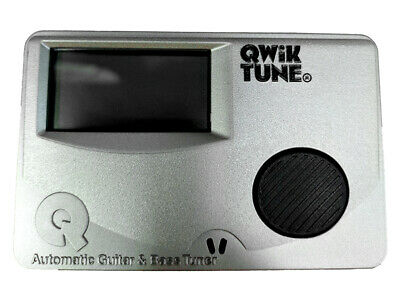 Qwik Tune Guitar Tuner Suits Electric, Acoustic And Bass
