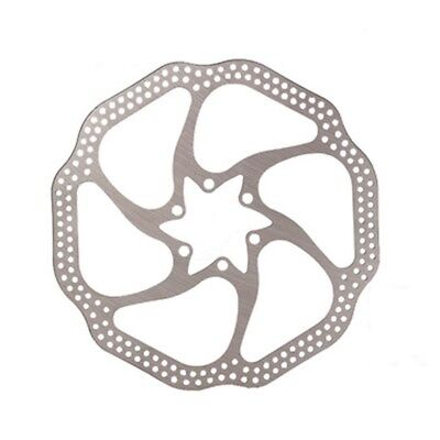 5X(Cycling Mountain Bike Brake Disc 180MM HS1 Bicycle Rotor Stainless Steel K5X9