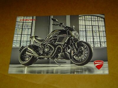 2016 Ducati Motorcycles Diavel Brochure Catalog Mint! 48 Pages