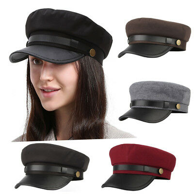 Fashion Fisherman Army Cap Cadet Military Navy Sailor Flat Top Sun Outdoor Hats