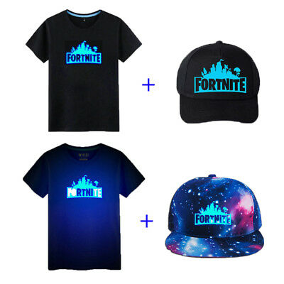 Growing In The Dark Fortnite Battle Royale Kids T-shirt with Adjustable Hat Cool