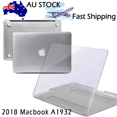 Fr 2018 NEW Macbook Air 13 Inch A1932 Glossy Clear Crystal Hard Case Shell Cover
