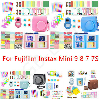 10in1 Camera Accessories Bundles Set for Fujifilm Instax Mini 9 8 7 7S Xmas Gift