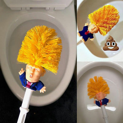 2018 Funny Present Donald Trump Cleaning Tool Presidential Home Use Toilet Brush