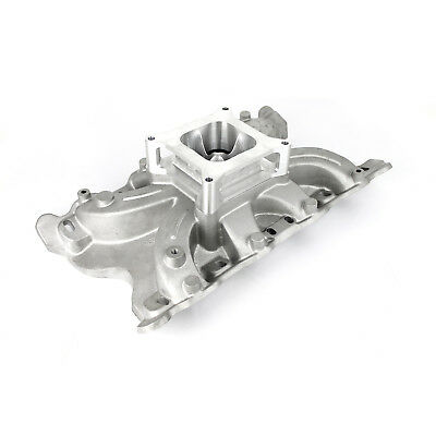 """fits Ford 302 351C Cleveland 2V Torque Low Rise Intake Manifold w/2"""" Spacer"""