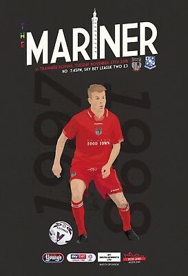 Grimsby Town Football Club - 18/19 Programme - Tranmere Rovers - 27/11/18