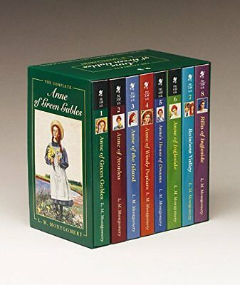 Anne of Green Gables, Complete 8-Book Box Set: Anne of Green Gables; Anne of ...