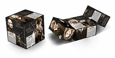 Harry Potter Magic Cube Calendar 2019 Desk Official Film Gift Present