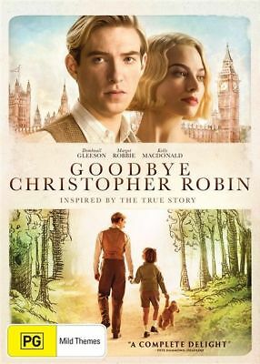 Goodbye Christopher Robin (DVD, 2018) : NEW