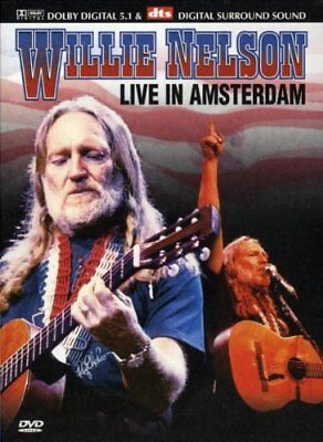 Willie Nelson: Live In Amsterdam [DVD] -  CD TOVG The Fast Free Shipping