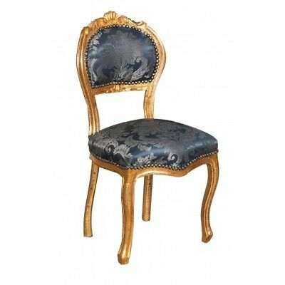 Louis XVI French style solid beech wood chair L42XPR45XH90 cm