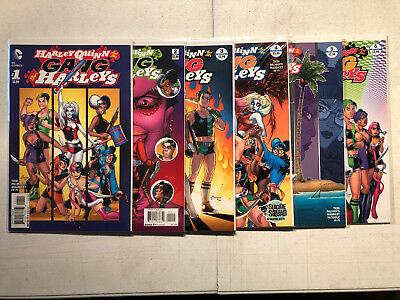 Harley Quinn and Her Gang of Harley's 1-6 Complete DC Comic Lot Set 1st Print