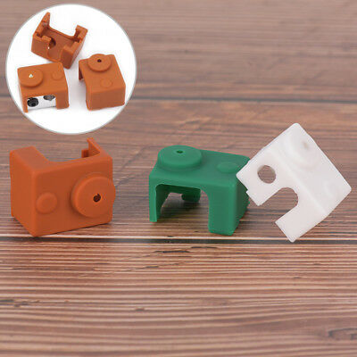 3D printer silicone sock heater block cover E3D-V6 hotend heater protector TK