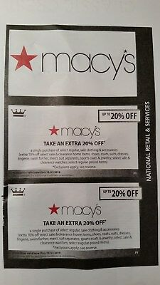 Macy's 20% Off Coupons