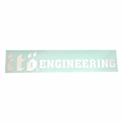 Megabass Sticker ITO Engineering Siver 30cm From Stylish Anglers Japan