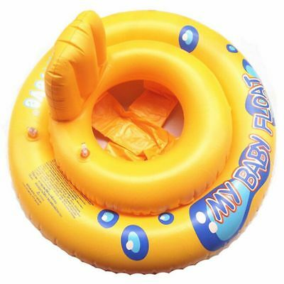 2X(Baby Infant Kids Toddler Swimming Seat Pool Float Ring Bath Buoyancy Aid W 9)