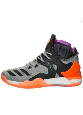 brand new 95fe4 af094 Adidas Derrick Rose 7 Orange All Star Primeknit Basketball Schuhe NEU Gr.  43 1