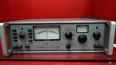 North Atlantic 321A Wideband Phase Angle Voltmeter *For Parts Or Repair*