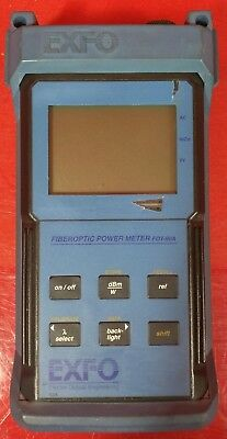 Exfo FOT-92AX Fiber Optic Power Meter S/N 80234-2S