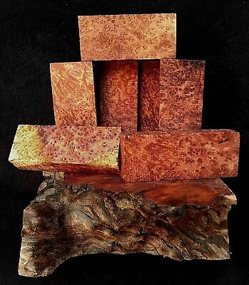 Redwood Burl Knife Blanks