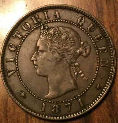 1871 PEI LARGE 1 CENT VICTORIA PENNY - Rarely this nice!