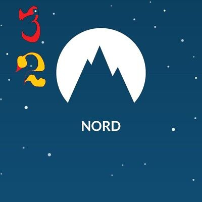 ✔Nord VPN ORIG  3 YEAR subscr,lifetime warranty,instructions.setup support