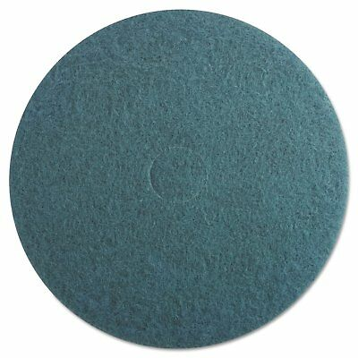 Boardwalk Ultra High-Speed Floor Pads 20-Inch Diameter Aqua 5/Carton