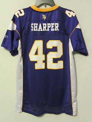 Minnesota Vikings Reebok jersey  42 Darren Sharper youth boys XL 18-20 ~ feb3112aa