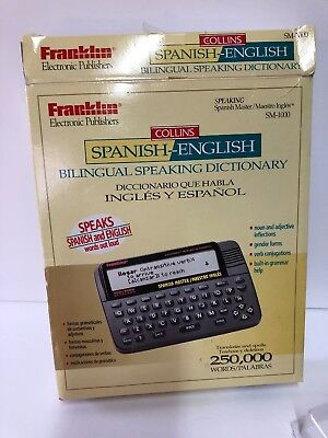 Franklin Pocket Spanish/English Dictionary New In Box