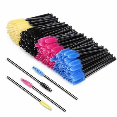 200pcs Disposable Mascara Brushes,Bendable Mascara Wands with Soft Hair,Eye L H9