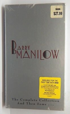 Barry Manilow: The Complete Collection And Then Some ~ New 4-CD/1-DVD Box Set