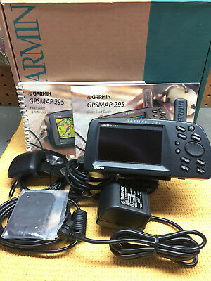 Garmin Aviation GPSMAP 295 with color display AVIATION BUNDLE
