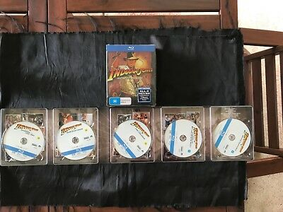 Indiana Jones The Complete Adventures on Blu-Ray like new