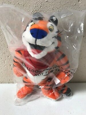 """Kellogg's Frosted Flakes 1997 Tony The Tiger 8"""" Plush Doll"""