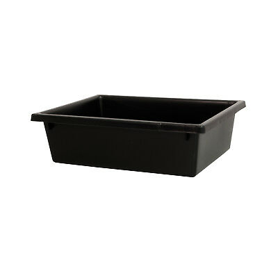 Ingredient Storage Tub Black 13.5L Okka Food Grade Container Box Tubs No Lid