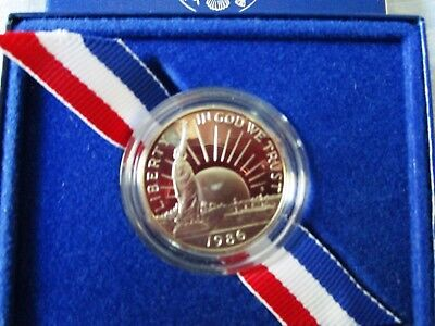 1886-1986 United States Liberty Proof Coin Half Dollar