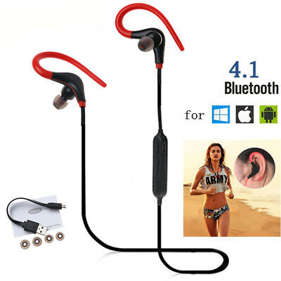 Bluetooth Headset Wireless Sport Stereo Headphones Earphone Earbuds With Mic 106