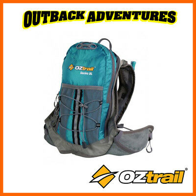 Oztrail Gecko 2 Litre Hydration Hiking Back Pack Bladder New Green 2L