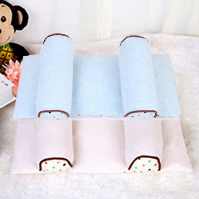 Baby Pillow Infant Newborn Anti Flat Head Syndrome for Crib Cot Bed Soft  XPL