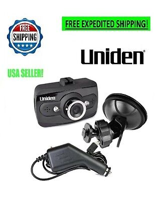 UNIDEN Dash Cam Car Camera 1080P HD Video Wide Angle Dashboard Mount Loop Night
