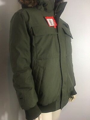 The North Face Men's Gotham Jacket In NEW TAUPE Green In X-Large  BNWT