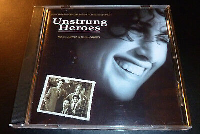 """""""UNSTRUNG HEROES"""" Soundtrack Score by Thomas Newman (CD 1995) **EXCELLENT** sryb"""