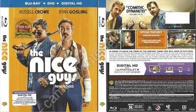 The Nice Guys (Blu-ray SLIPCOVER ONLY * SLIPCOVER ONLY)