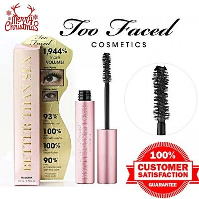 Too Faced Better Than Sex Mascara (Full Size) .027oz/8ml Same Day Free Shipping