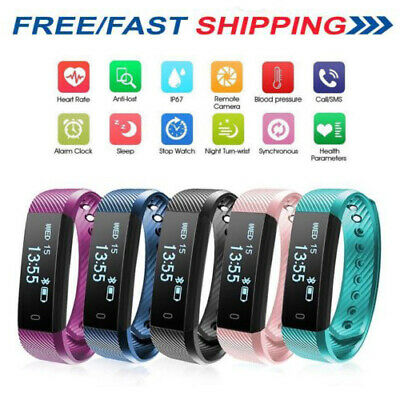 Latest Children Sleep Activity Tracker SmartWatch Pedometer For Fit/Bit Style UK